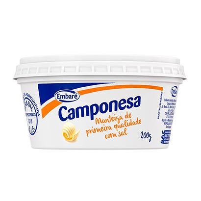 7896259410164 - MANTEIGA COM SAL CAMPONESA – 200G
