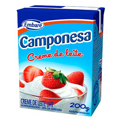 7896259411628 - CREME DE LEITE CAMPONESA 200G