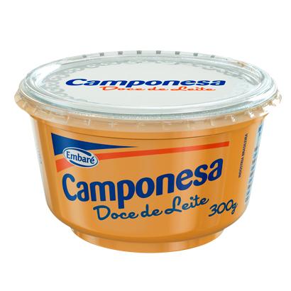 7896259412212 - DOCE DE LEITE CAMPONESA PASTOSO – 300G
