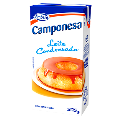 7896259412762 - LEITE CONDENSADO CAMPONESA – 395G