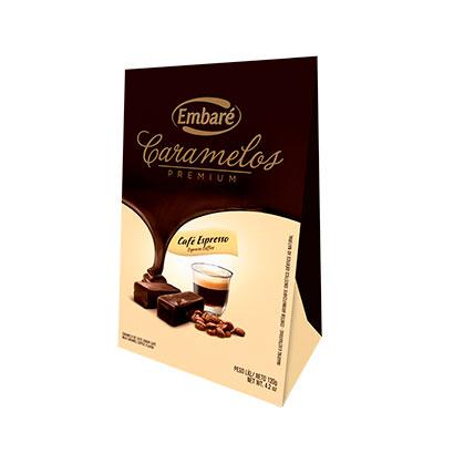 7896259417873 - CARAMELO DE LEITE SABOR CAFÉ – 120G EMBARÉ