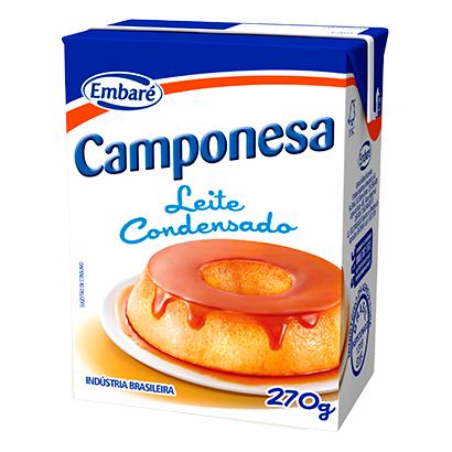 7896259477242 - BANDEJA LEITE CONDENSADO C/27 CAMPONESA - 270G