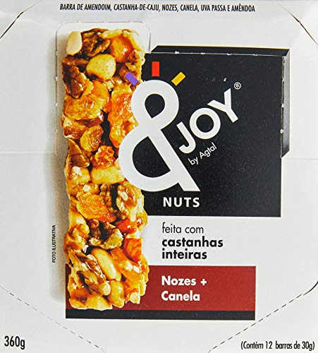 7896261402669 - BARRA DE CEREAL MIXED NUTS NOZES E CANELA 12UNIDADE X