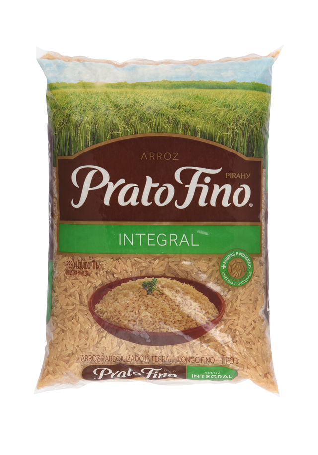 7896290300714 - ARROZ PRATO FINO INTEGRAL