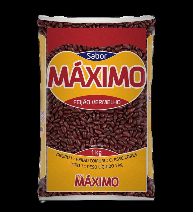 7896401101018 - FEIJÃO VERMELHO S. MÁXIMO - TIPO 1 - 1KG