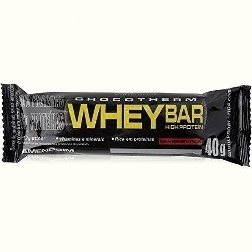 7896438204584 - WHEY BAR (LOW CARB) () - CHOCOLATE C/ AMENDOIM