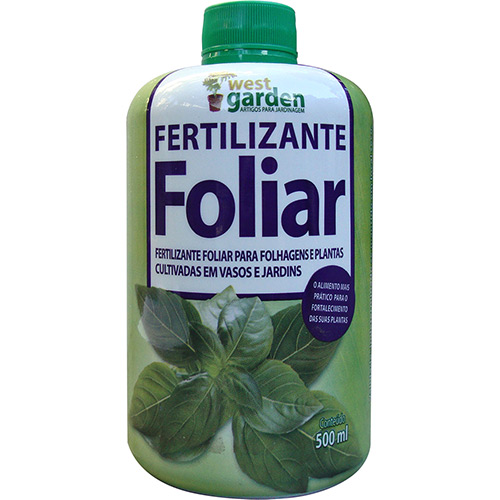 7896488812357 - FERTILIZANTE FOLIAR WEST GARDEN VERDE