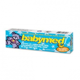 7896523206943 - BABYMED 150 MG/G + 5000 UI/G + 900 UI/G POMADA CIMED SIMILAR