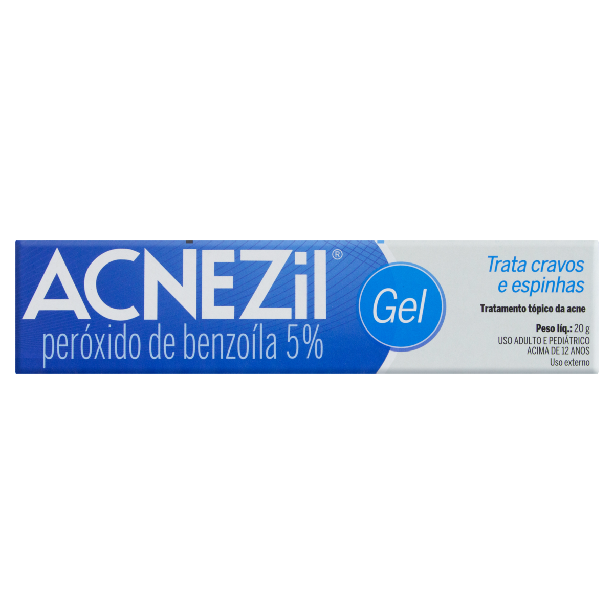 7896523208282 - ACNEZIL 50 MG/G CIMED SIMILAR