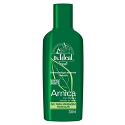 7896679223672 - GEL PARA MASSAGEM DE ARNICA EXTRAFORTE DR. IDEAL FRASCO 240G