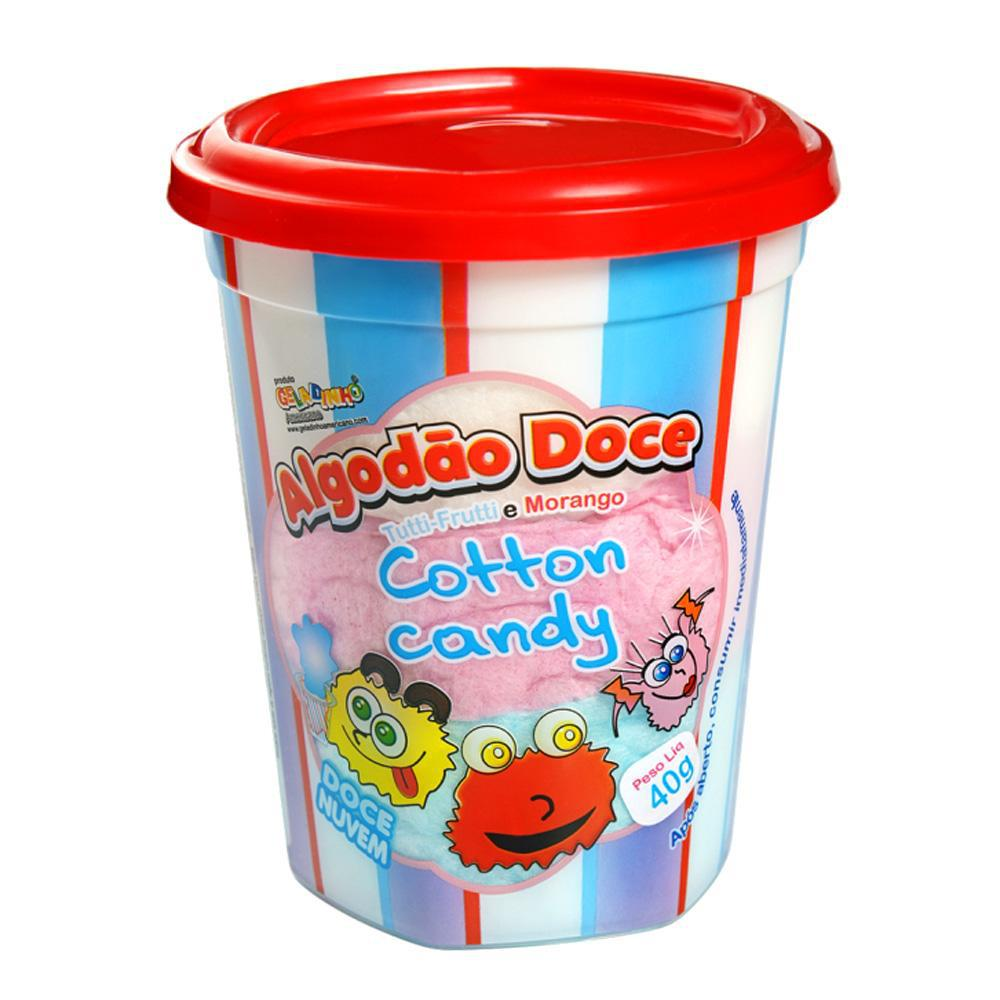 7896704102088 - ALGODAO DOCE COTTON CANDY 40G