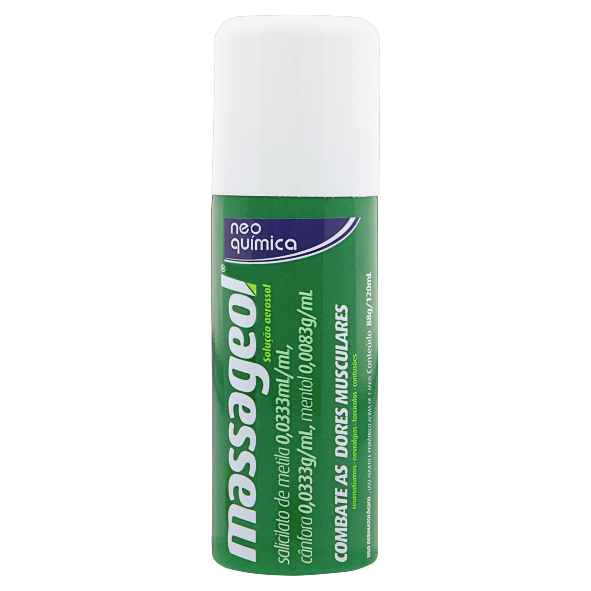 7896714273006 - MASSAGEOL NEO QUÍMICA FRASCO 120ML