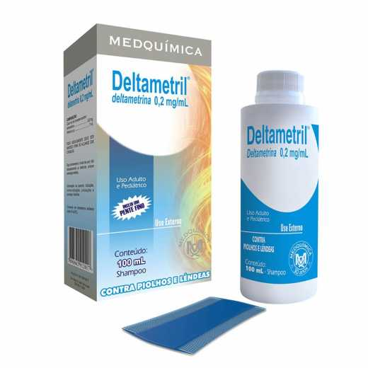 7896862912017 - DELTAMETRIL 0,2MG/ML MEDQUÍMICA CAIXA 100ML