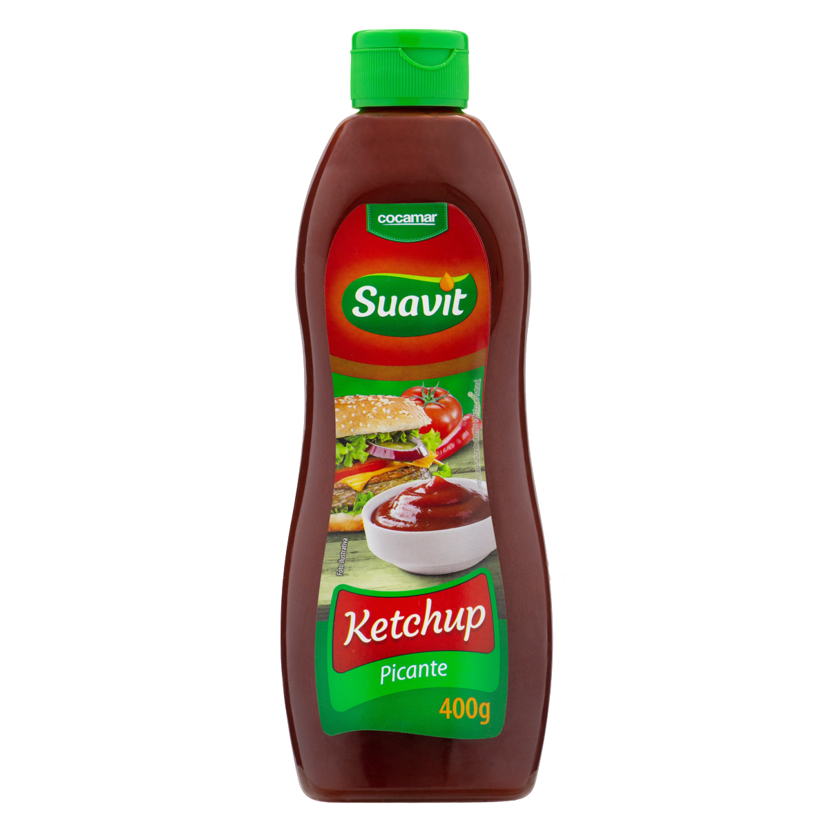 7897001040387 - KETCHUP PICANTE SUAVIT SQUEEZE 400G