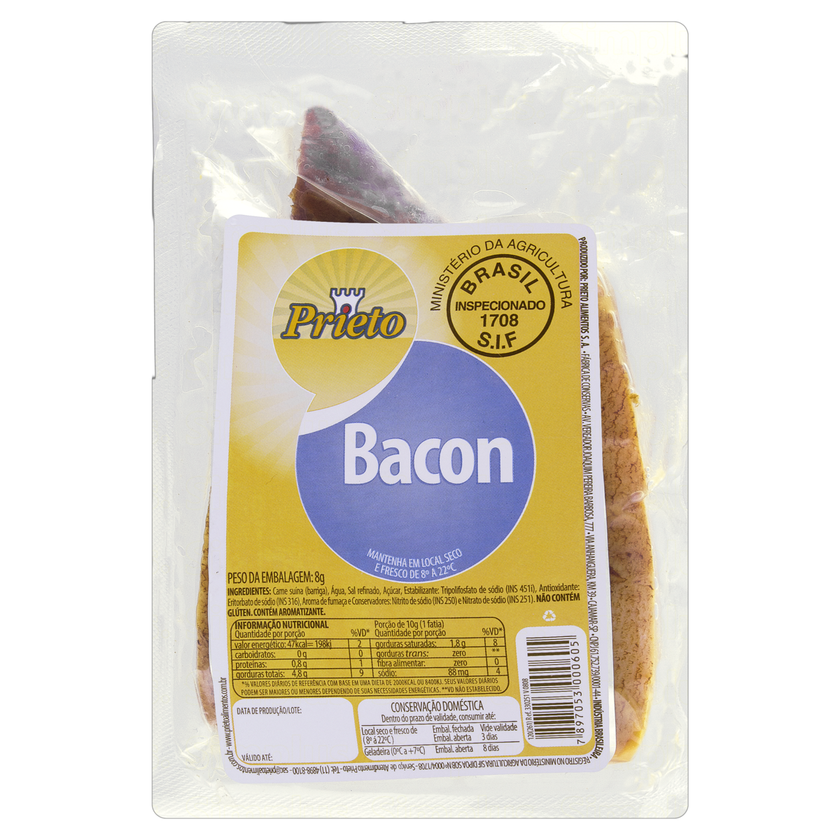 7897053000605 - BACON PRIETO