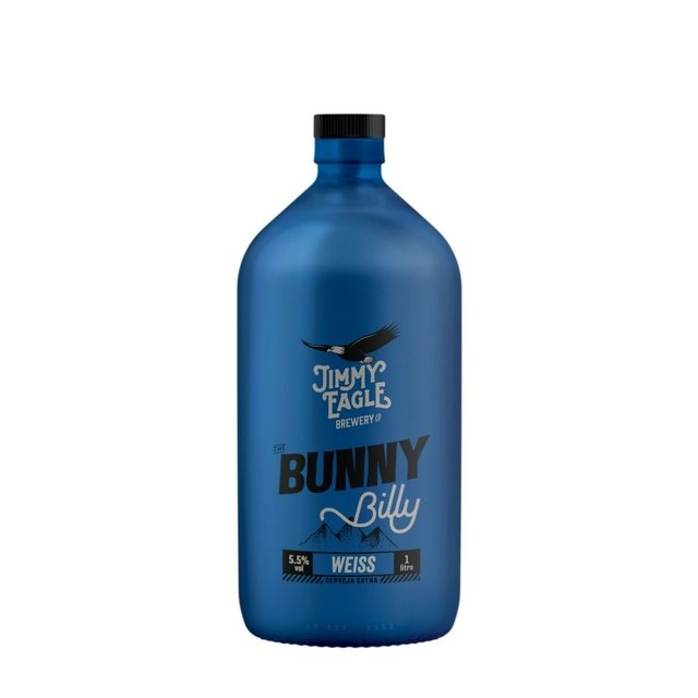 7897075129629 - CERV JIMMY EAGLE BILLY BUNNY GROWLER WEISS 1L