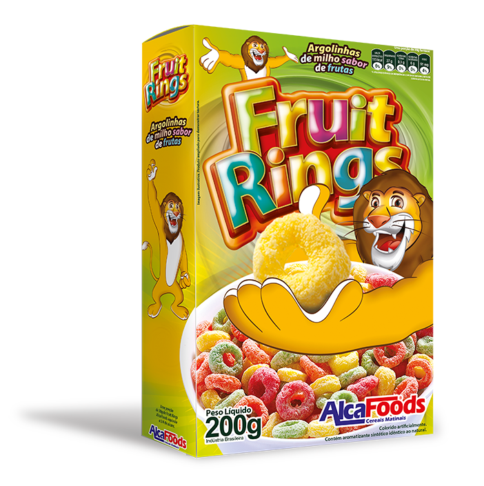 7897393605089 - CEREAL ALCA FOODS FRUIT RINGS