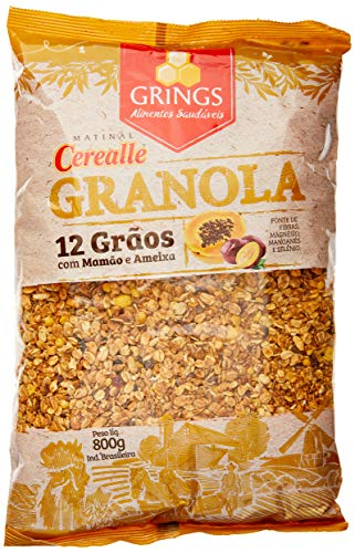 7897846901157 - CEREALLE GRANOLA 12 GRAOS 800G GRINGS