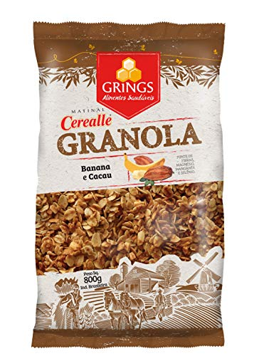 7897846901232 - CEREALLE GRANOLA BANANA & CACAU 800G GRINGS