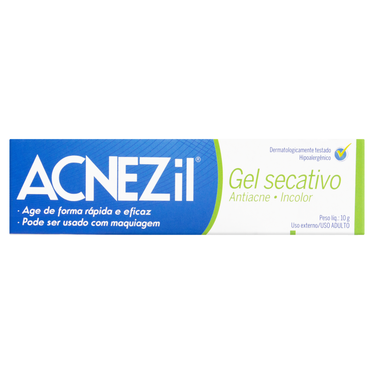 7897947607392 - ACNEZIL GEL SECATIVO 10G