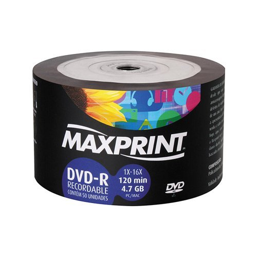 7897975057534 - CD-DVD-R TUBO MAXPRINT
