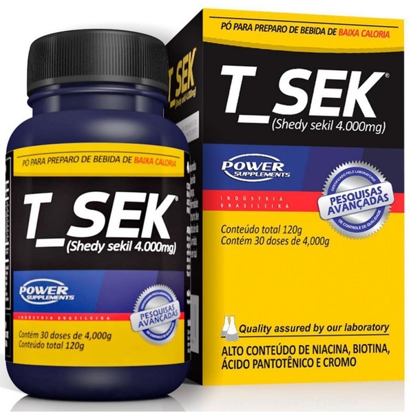 7898158498861 - T-SEK - - POWER SUPPLEMENTS
