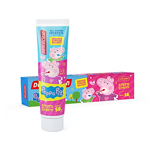7898185413288 - GEL DENTAL PEPPA PIG 50G DENTALCLEAN