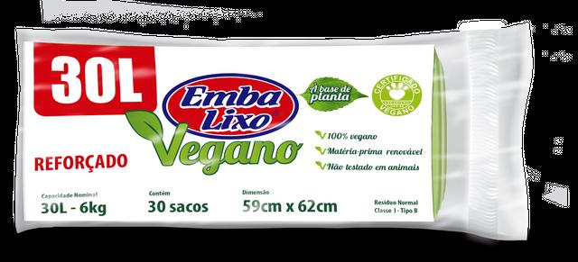 7898226517494 - SACO DE LIXO EMBALIXO VEGANO REFORÇADO 30 LITROS