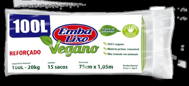 7898226517517 - SACO DE LIXO EMBALIXO VEGANO REFORÇADO 100 LITROS