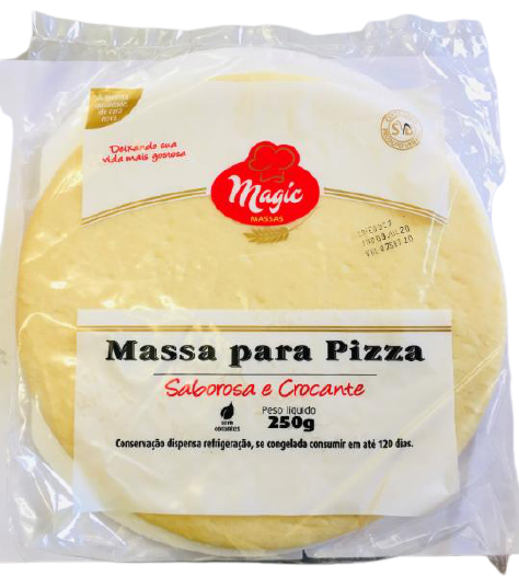 7898231610111 - MASSA PIZZA MAGIC MASSA