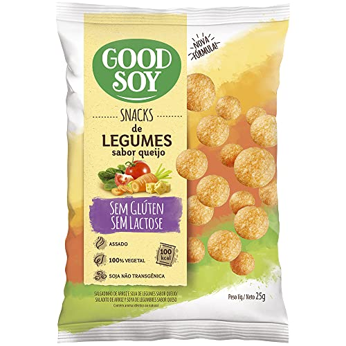 7898380410662 - SNACKS GOOD SOY LEGUMES QUE 25GR