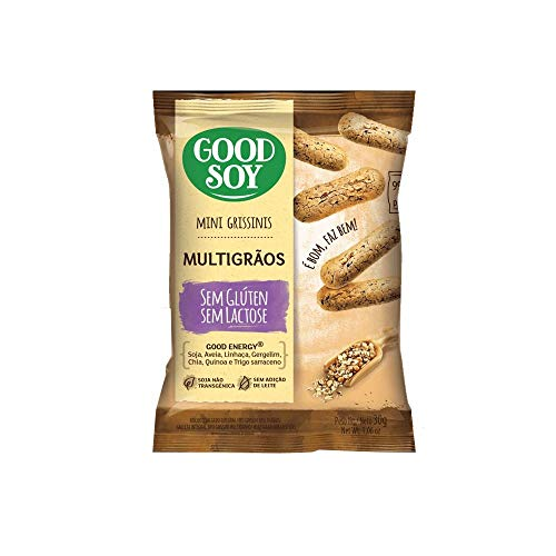 7898380410976 - GRISSINIS GOOD SOY 30G INTEGRAL MULTIGRAOS
