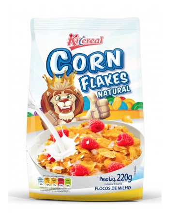 7898416521461 - CEREAL MATINAL CORN FLAKES NATURAL 220G KICEREAL