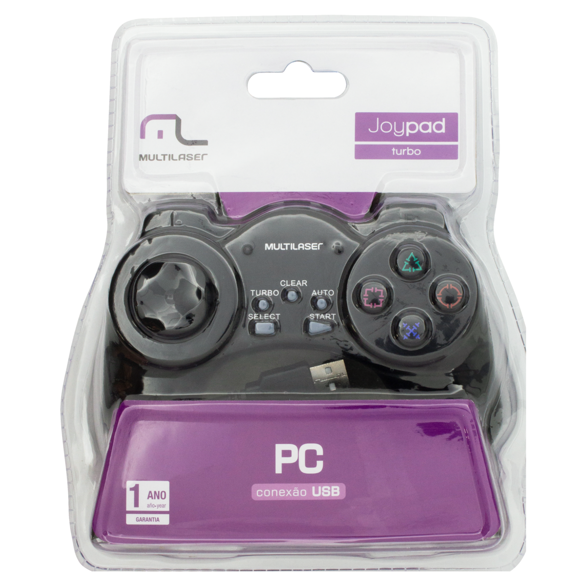 7898458702408 - MULTILASER JS028 GAMEPAD