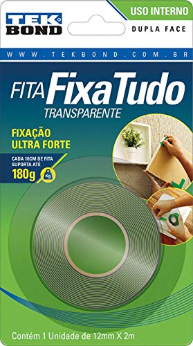 7898472262575 - FITA ACR DUPLA FACE INT KIMARC 12MMX2M