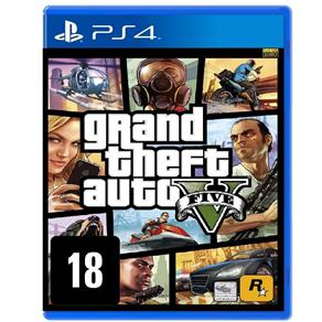 7898505161073 - JOGO GRAND THEFT AUTO V - PS4