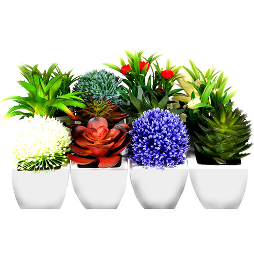 7898512889861 - MINI FLORES ARTIFICIAIS KIT COM 12 FLORES - BTC KF0030