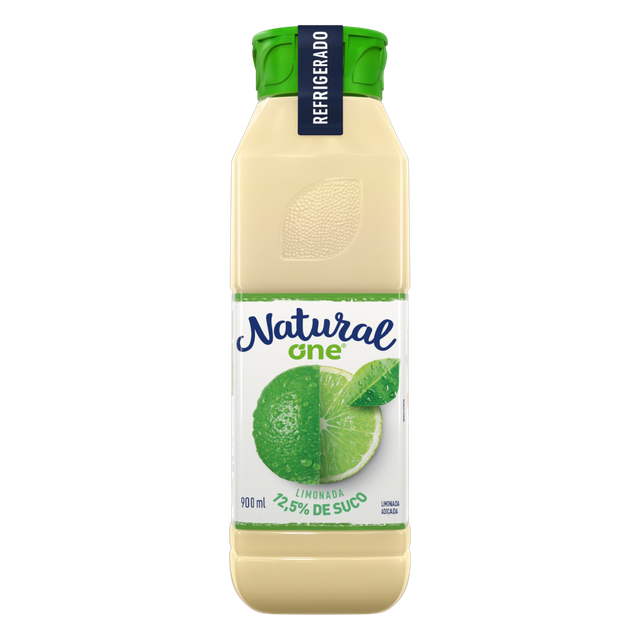 7898553442957 - SUCO LIMONADA NATURAL ONE REFRIGERADO GARRAFA 900ML