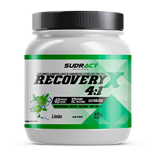 7898586020658 - RECOVERY X 4: 1-975G LIMÃO - SUDRACT NUTRITION, SUDRACT