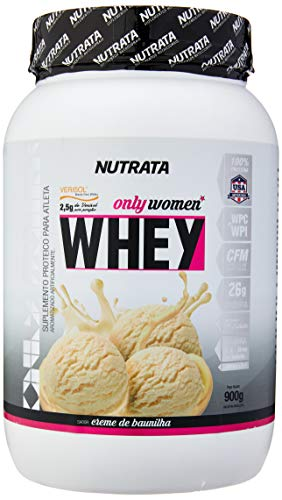 7898599211876 - ONLY WOMEN WHEY BAUNILHA 900G NUTRATA