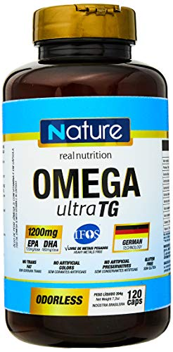 7898599212439 - ÔMEGA 3 ULTRA 1200MG - 120 CÁPSULAS - NATURE, NUTRATA