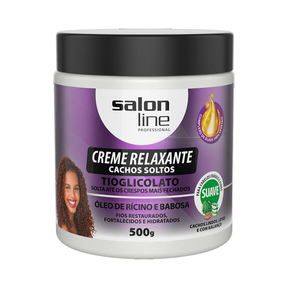 7898623953772 - CR RELAX CACHOS SOLTO OLEO RICINO/BABOSA SUAVE 500G