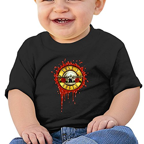 7898887690826 - ATOGGG INFANTS &TODDLERS BABY'S GUNS N ROSES LOGO T SHIRTS FOR 6-24 MONTHS
