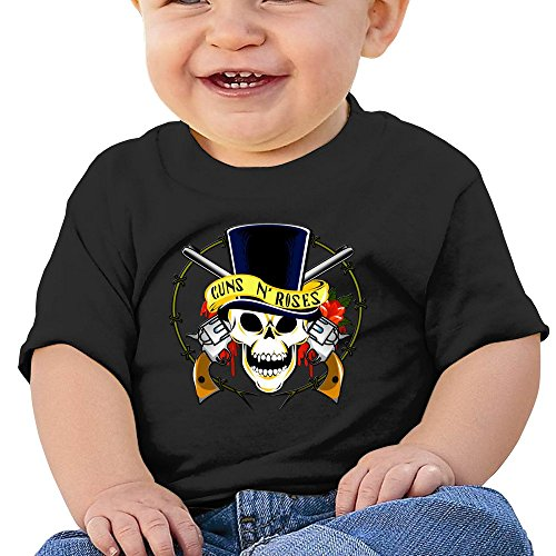 7898887690857 - ATOGGG INFANTS &TODDLERS BABY'S GUNS N ROSES LOGO T SHIRTS FOR 6-24 MONTHS