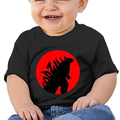 7898887691427 - ATOGGG INFANTS &TODDLERS BABY'S GODZILLA LOGO T SHIRTS FOR 6-24 MONTHS