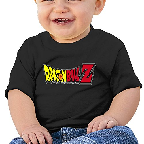 7898887694596 - ATOGGG INFANTS &TODDLERS BABY'S DRAGON BALL Z LOGO T SHIRTS FOR 6-24 MONTHS