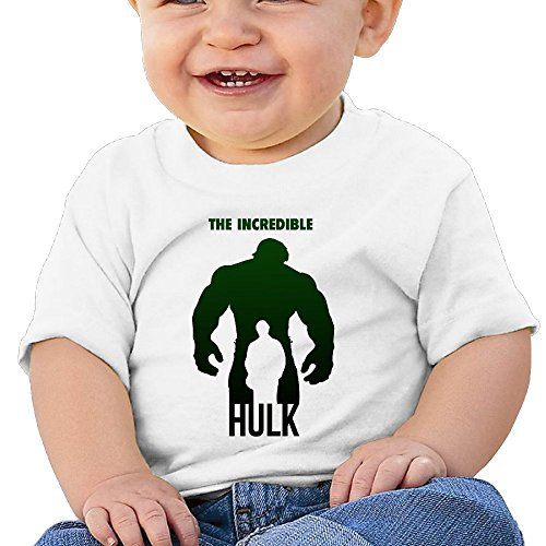 7898887695180 - ATOGGG INFANTS &TODDLERS BABY'S FAN ART HULK T SHIRTS FOR 6-24 MONTHS