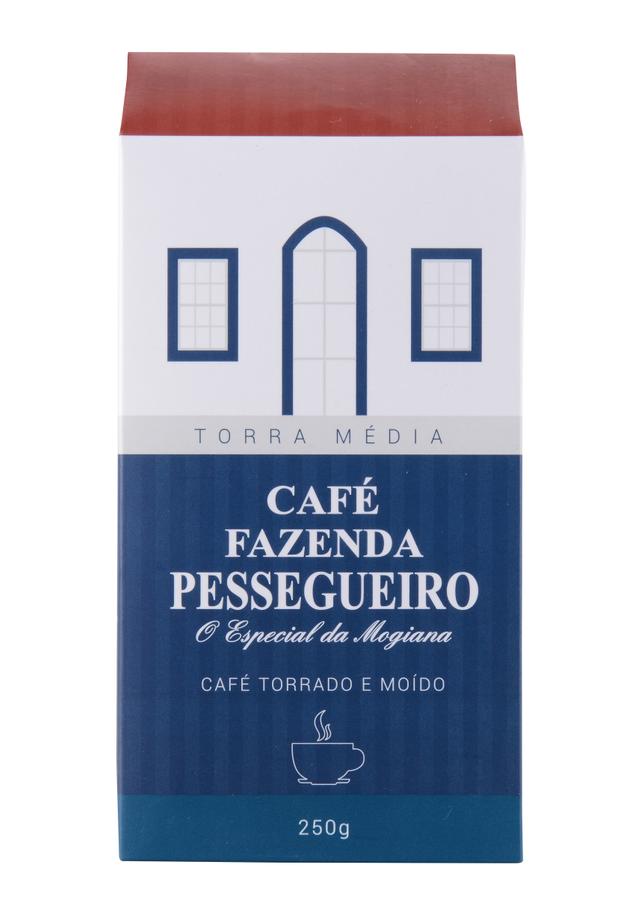 7898901350019 - CAFÉ FAZENDA PESSEGUEIRO TORRADO E MOÍDO 250G
