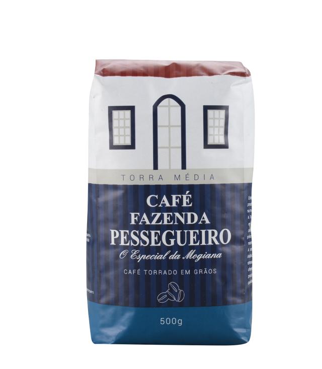 7898901350040 - CAFÉ FAZENDA PESSEGUEIRO TORRADO EM GRÃOS 500G