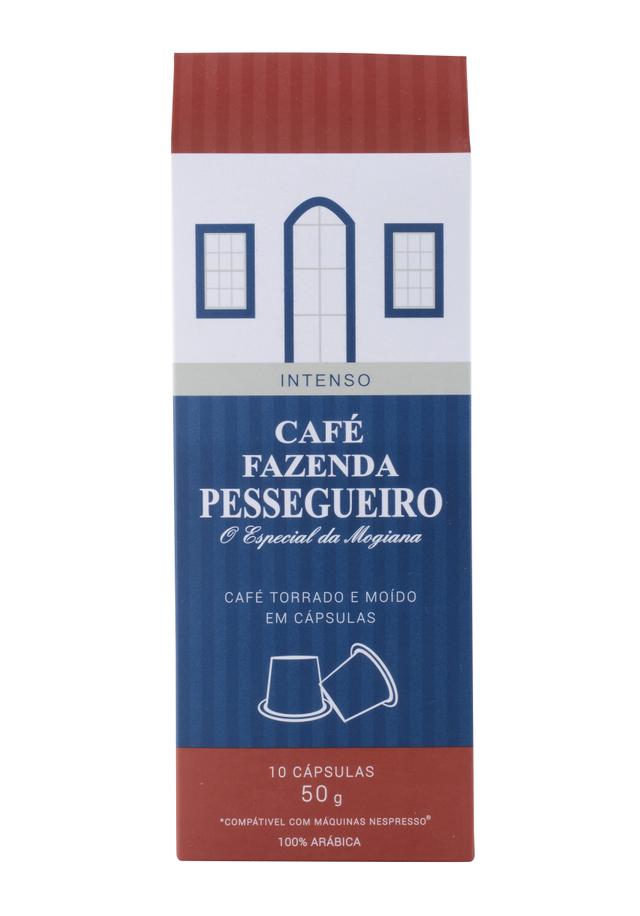 7898901350163 - CAFÉ FAZENDA PESSEGUEIRO ORGÂNICO 10 INTENSO 50G